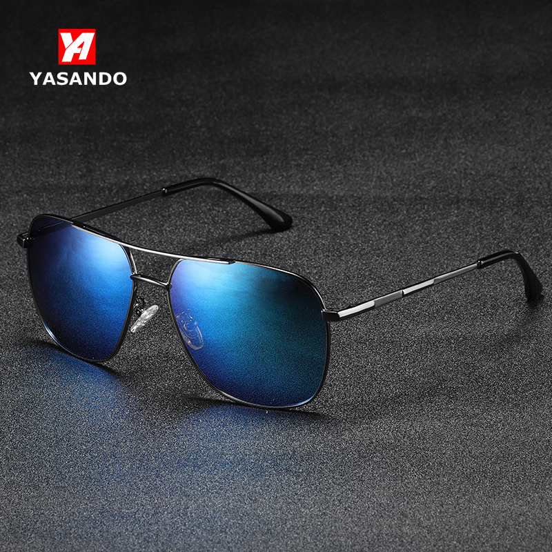 Sunglasses for Men 2019 YASANDO Colorful Polarized Pilot Sun Glass Outdoor Sport Shades <font><b>Lens</b></font> UV400 Male Eyewear RP201934 image