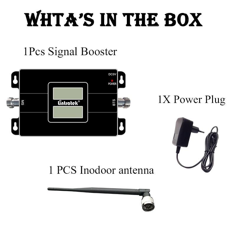 Lintratek 2G 3G GSM 900 WCDMA 2100 double bande répéteur de Signal de téléphone portable GSM 3G UMTS amplificateur de Booster cellulaire @ 4.4 - 6