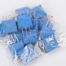 15 значений 3296 триммер отделка горшок переменный резистор потенциометра Наборы 15 шт.