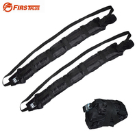 2 x Universal Car Inflatable Roof Rack Luggage Carrier Surfboard Paddleboard Anti vibration with Adjustable Heavy Duty Straps
