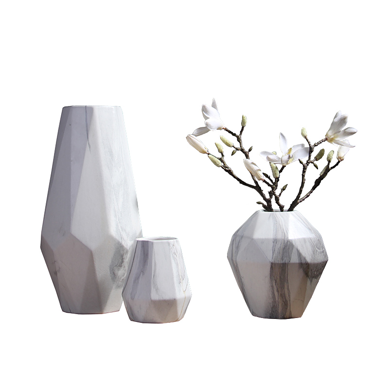 VS2# Wooden Frame Glass Hydroponic Plant Vase Flower Pot Office Home Decorations