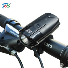 USB Rechargeable Bike Front Light Bicycle Accessories Lithium Battery High Power Cycling Bicycle LED Head Light Waterproof