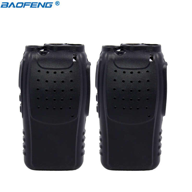 2 stuks BAOFENG BF888S Handheld Soft Rubber Case Bescherming Siliconen Cover Shell voor Ham Baofeng BF-888S H777 Walkie Talkie