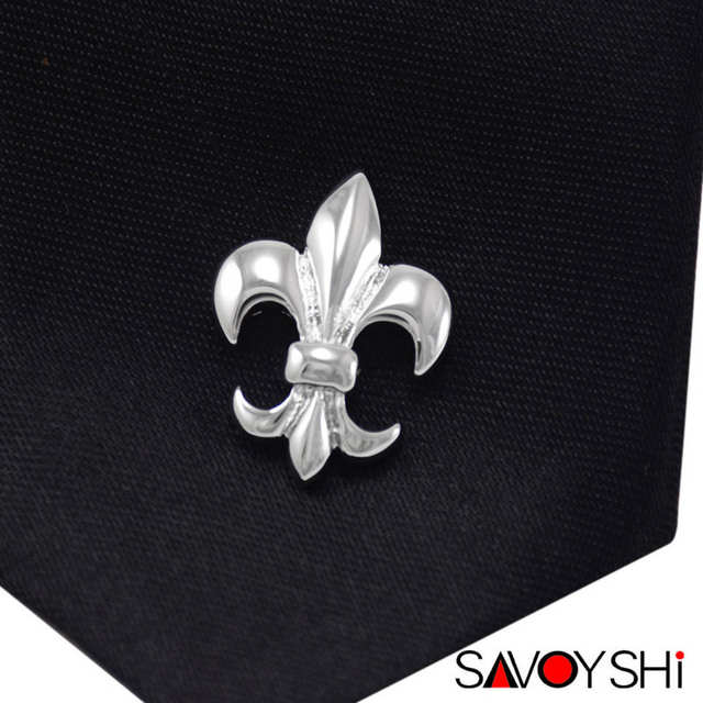 5cbac355cca82 US $2.99 40% OFF|SAVOYSHI Classic Silver Flower Shape Men Lapel Pin  Brooches Pins Fine Gift for Mens Brooches Collar Party Engagement  Jewelry-in ...