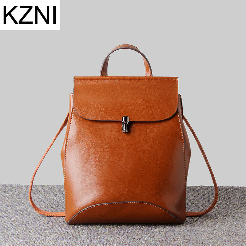 KZNI shoulder bags genuine leather bags for women vintage students casual woman bag bolsos mujer de marca famosa 2016 L112920 comics dc marvel wallets green arrow leather purse women money bags gift wallet carteira feminina bolsos mujer de marca famosa