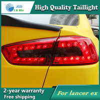 Car LED Tail Light Parking Brake Rear Bumper Reflector Lamp For Mitsubishi Lancer 2010 2013 Red