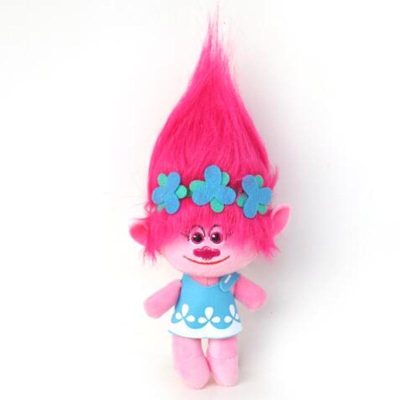 BARU 23-32cm Movie Trolls Plush Toy Poppy Cawangan Mimpi Berfungsi - Mainan lembut - Foto 2