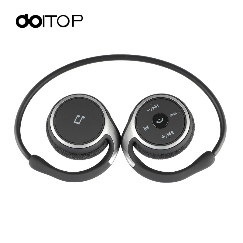 DOITOP Sports BT Headphones Suicen AX-698 Support 32G TF Card FM Radio Portable Neckband Wireless Earphones Headset Auriculars 4 ks 508 mp3 player stereo headset headphones w tf card slot fm black