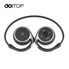 DOITOP Sports BT Headphones Suicen AX 698 Support 32G TF Card FM Radio Portable Neckband Wireless