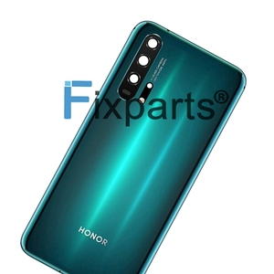 Image 5 - Huawei Honor 20 Pro 배터리 커버 도어 백 하우징 후방 케이스 명예 20 배터리 커버 도어 교체 부품