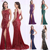 Mermaid Evening Dress Ever Pretty EP08859 2020 Long Sexy Sleeveless Split Formal Celebrity Lace Evening Gown Dresses robe longue 1