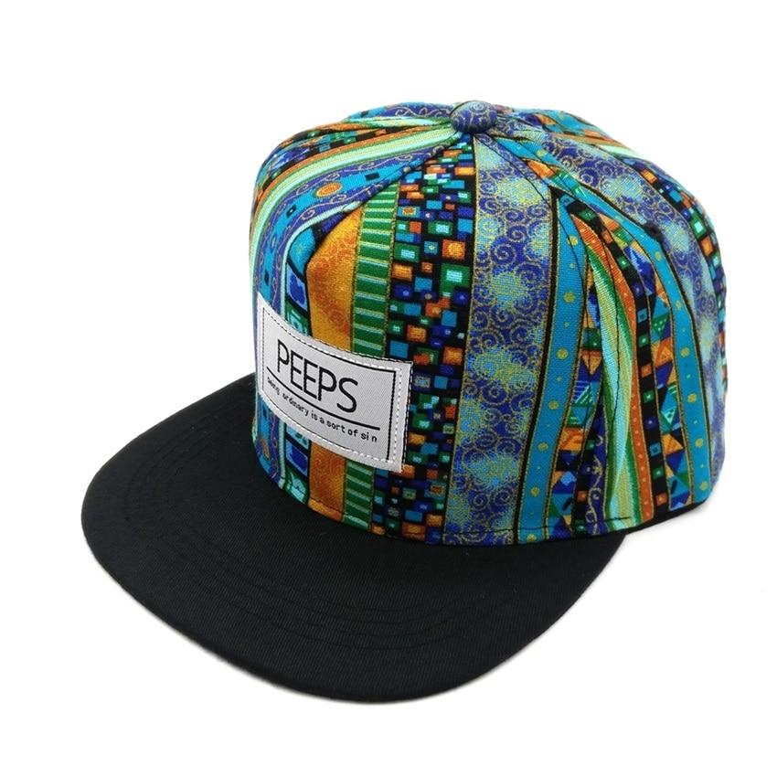 Minhui 2015 Moda e Re PEEPS Baseball Caps Snapback Flat Hat Brim - Aksesorë veshjesh - Foto 3