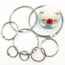 10 шт/лот Металлические Широкие переплетные кольца для книг