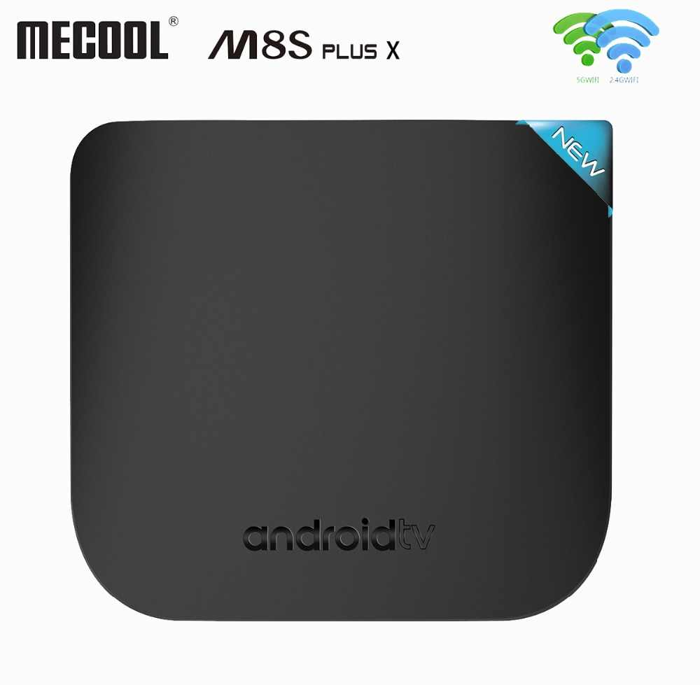 2018 Android TV Box Amlogic S905W Android TV Box Quad Core 2.4G 5G Dual WIFI Android 7.1 Smart media Player Mecool M8S Plus X