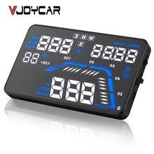 Q7 5.5 «Универсальный Авто Автомобиль GPS HUD Скорость Пробег Дисплей Цифровой Спидометр Автомобиля Предупреждения Превышения Скорости Во Избежание Солнечность