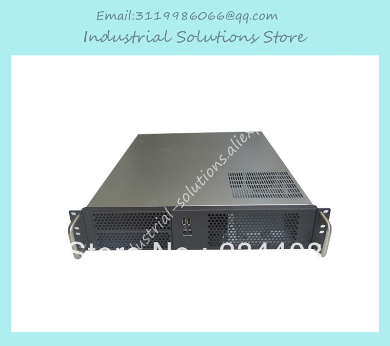 все цены на  NEW 2u server computer case pc power supply large-panel 2 optical drive bit 4 hard drive 2u industrial computer case  онлайн