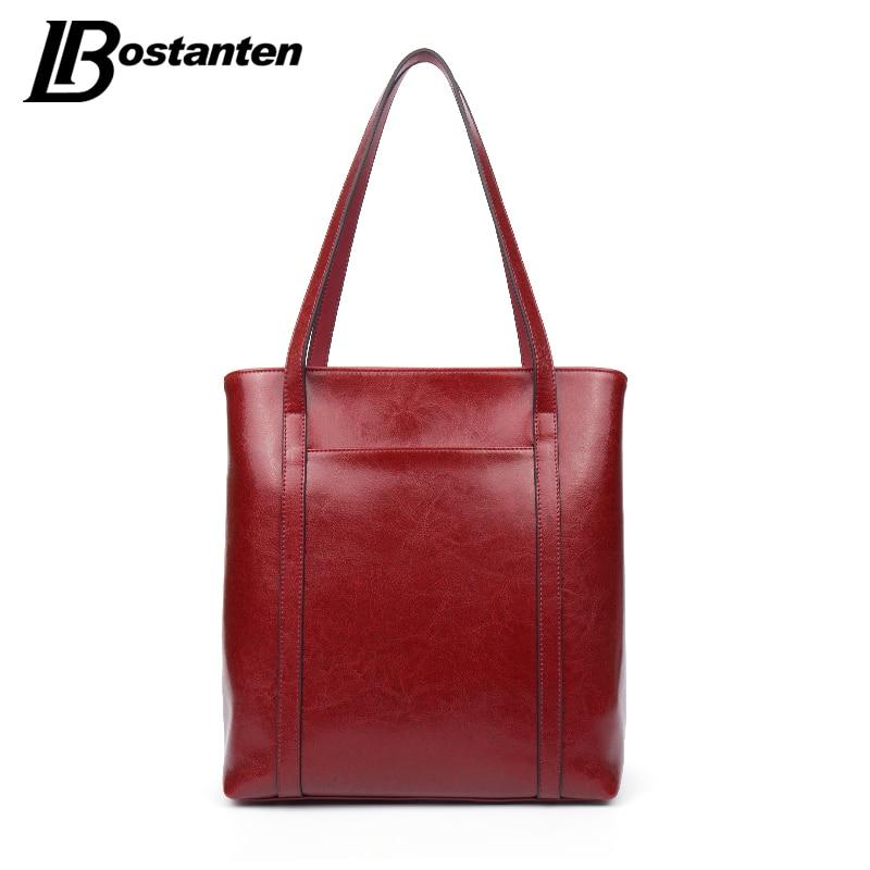 ФОТО BOSTANTEN Vintage Women Shoulder Bags Solid Women Totes Female Hand Bags Luxury Handbags Women Bags Designer Bolsos Sac A Main