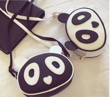 cute panda shoulder bag lady Women Ladies cartoon bear Elegant PU Leather Hobo Shoulder Bag Messenger Purse Satchel Handbag недорго, оригинальная цена