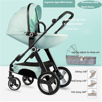 Free Shipping High landscape Luxury Baby Stroller Newborn Buggy 0 36 Months Stroller Baby Carriage