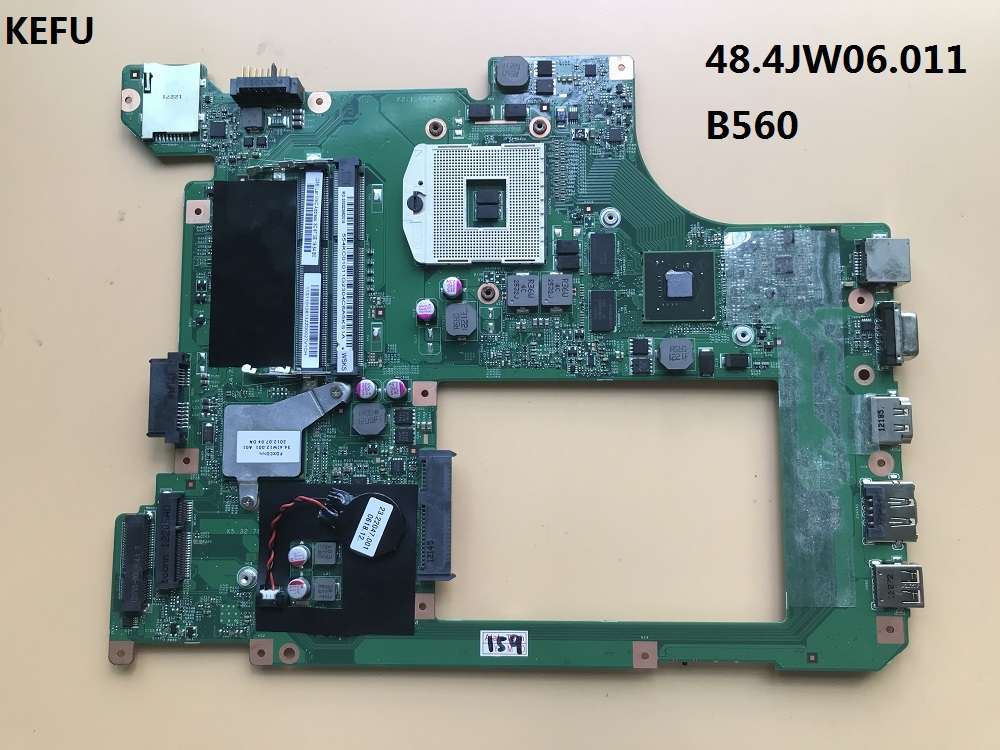 KEFU Fit For lenovo B560 motherboard 48.4JW06.011 10203 1 LA56 MB graphic card on board 100% tested working-in Motherboards from Computer & Office    1
