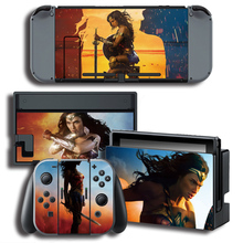 Vinyl Cover Decal Skin Protector Sticker for Nintendo Switch NS Console + Controller + Stand Cover Sticker Skins 6 Styles