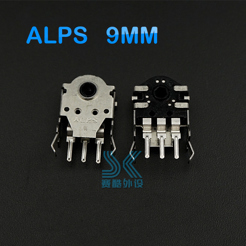 Original ALPS Mouse Encoder ALPS 9mm High Accurate For Sensei RAW Rival100 310 Solve The Roller Wheel Problem Replacement 1PCS