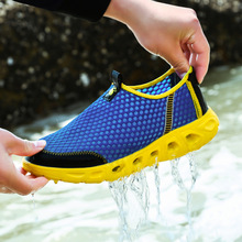 Outdoor men shoes casual shoes Climbing shoes 2016 summer style trekking shoes slip on walking Breathable quick dry