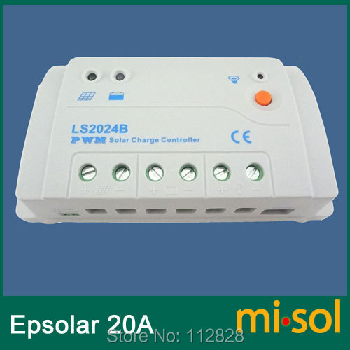 Epsolar Solar regulator 20A 12V 24V solar charge controller 50V LS2024BEpsolar Solar regulator 20A 12V 24V solar charge controller 50V LS2024B