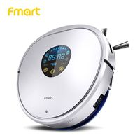Fmart YZ U1S Unique Triangle Design Robot Vacuum Cleaner Anticollision Antifall Selfcharge RemoteControl Auto Cleaning Aspirator
