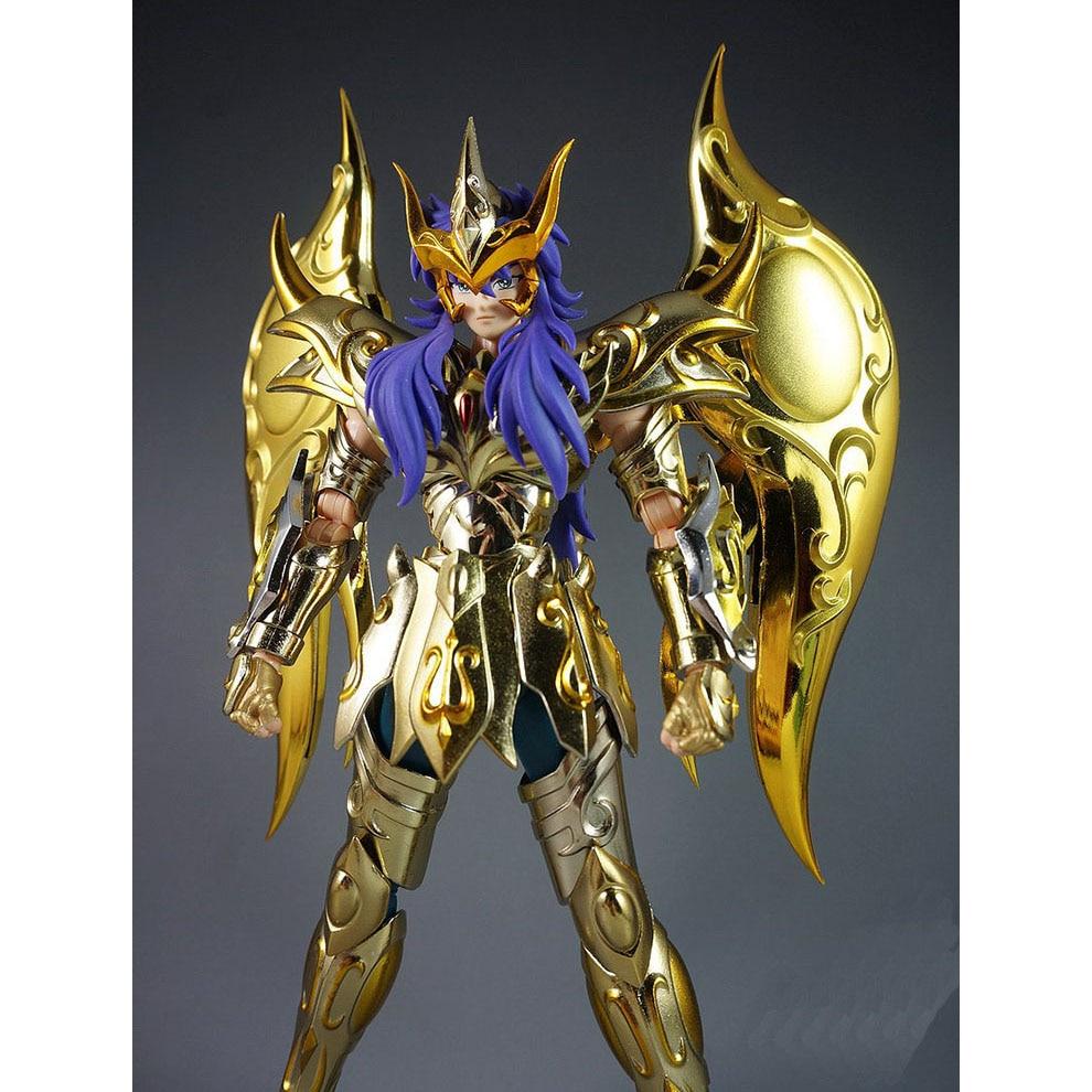 CMT Great Toys GT Ex Scorpio Milo Soul of Gold Gud Saint Seiya Metal - Toy figuriner - Foto 6