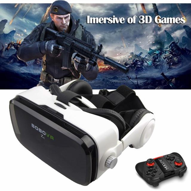 "original BOBOVR Z4 3D Glasses VR Glasses Bluetooth Controller Immersive Virtual Reality Google Cardboard for 4~6""inch SmartPhone"