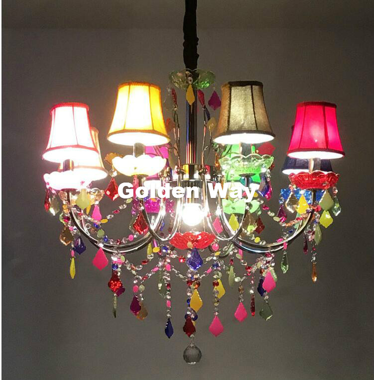 Aliexpress.com : Buy Free Shipping Colorful Chandelier