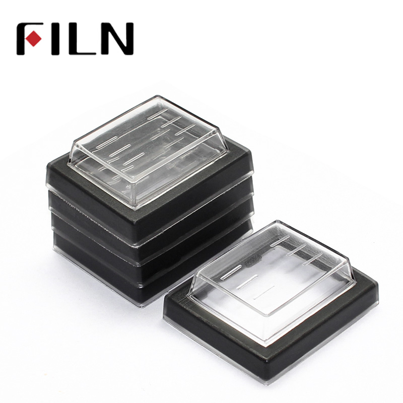 5 Pcs 25x32mm Mounting Hole Rectangle Clear Silicone Waterproof Protect Cover Rectangle Cap For KCD Rocker Switches
