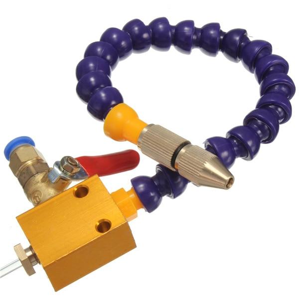 Neue Ankunft 8mm Air Rohr Nebel Kühlmittel Schmierung Spray System CNC Drehmaschine Fräsen Bohrer Gravur Maschine Werkzeug für Kühlung