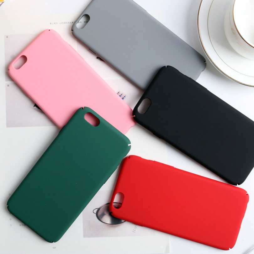 Colorful Hard Plastic Cases For Iphone 7 6 6S 5 5S SE Phone Bags Anti-Knock Contracted Style Covers For Apple Iphone 6S 6 8 Plus