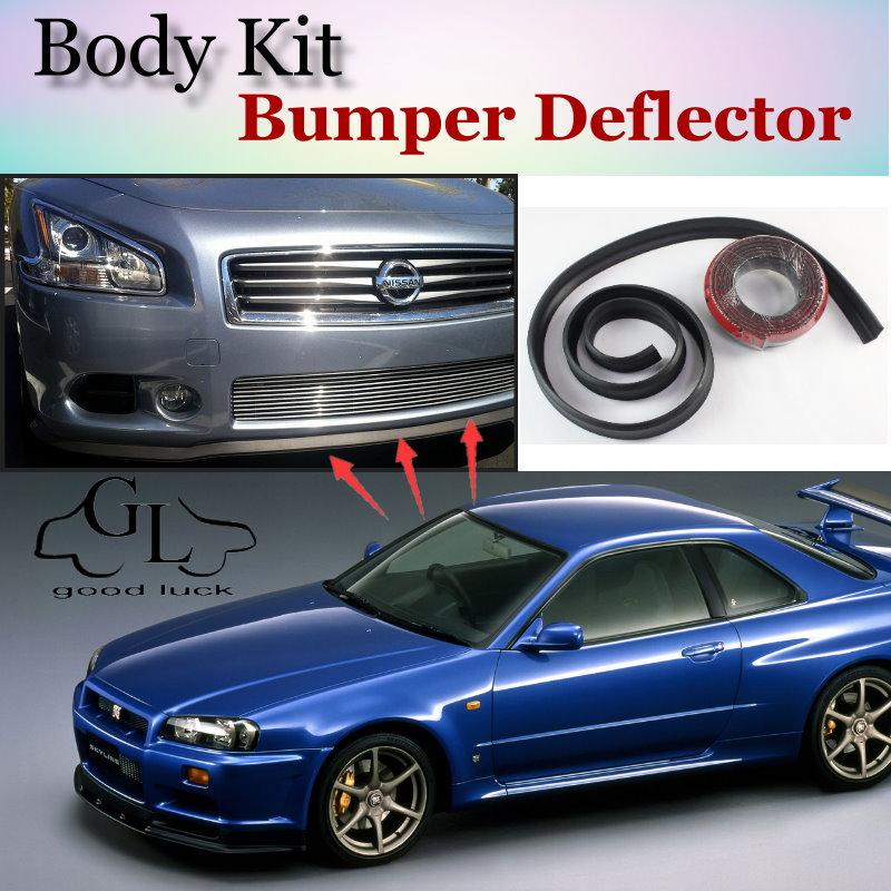 Lip Deflector Lippen Für Nissan Skyline Gt R Gtr R30 R31 R32 R33 R34