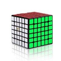 QiYi Shadow 6x6x6 Magic Cube X Man 6 Layers Speed Cube Professional Twist Cubes for Children Educational Toys for Brain Training
