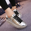 2016 Hot selling good quality retail and wholesales fashion women casual shoes female bling shoes free shipping size 35-40