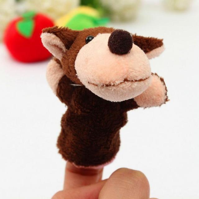 8pcs/Set Animal Finger Puppet