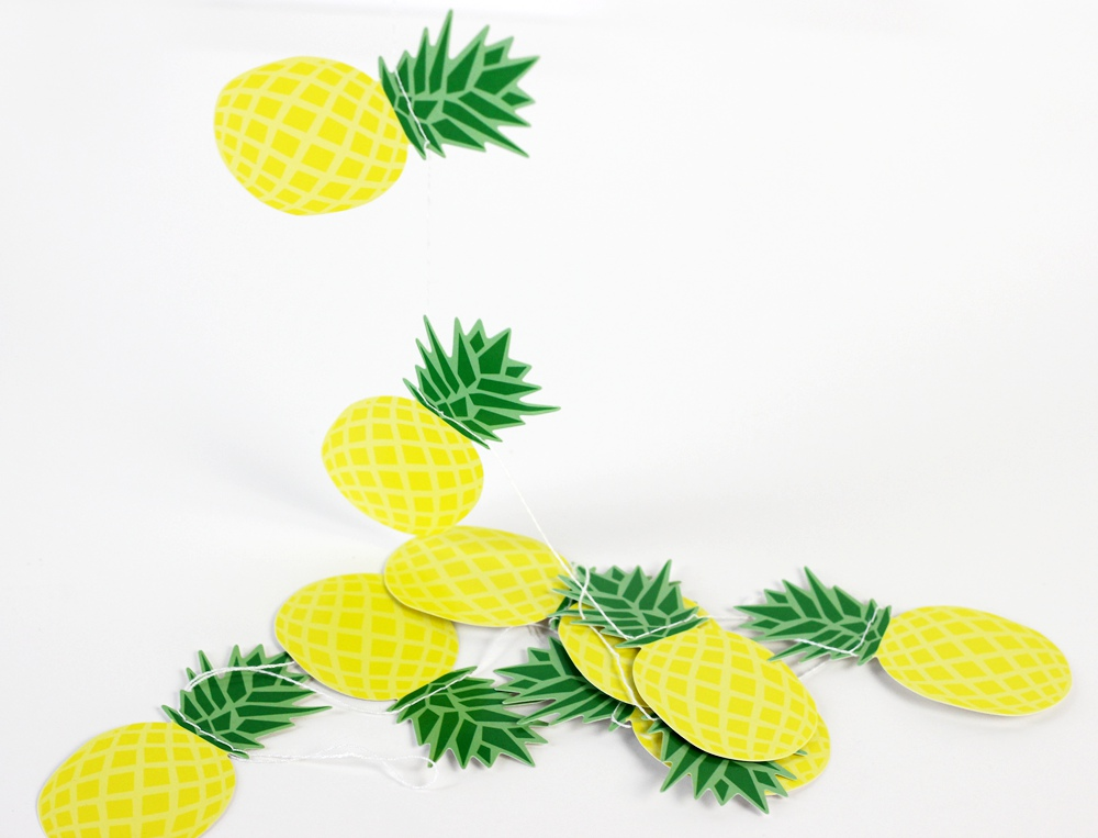 Verano Piña Guirnalda Banner Decoración para el Hogar Fruta - Para fiestas y celebraciones - foto 4