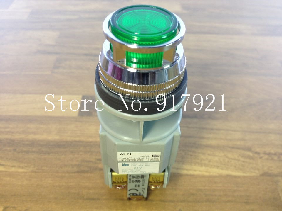 цена на [ZOB] Japan's IDEC and ALN 24V with light button with lamp button 30MM NO NC genuine original --2PCS/LOT