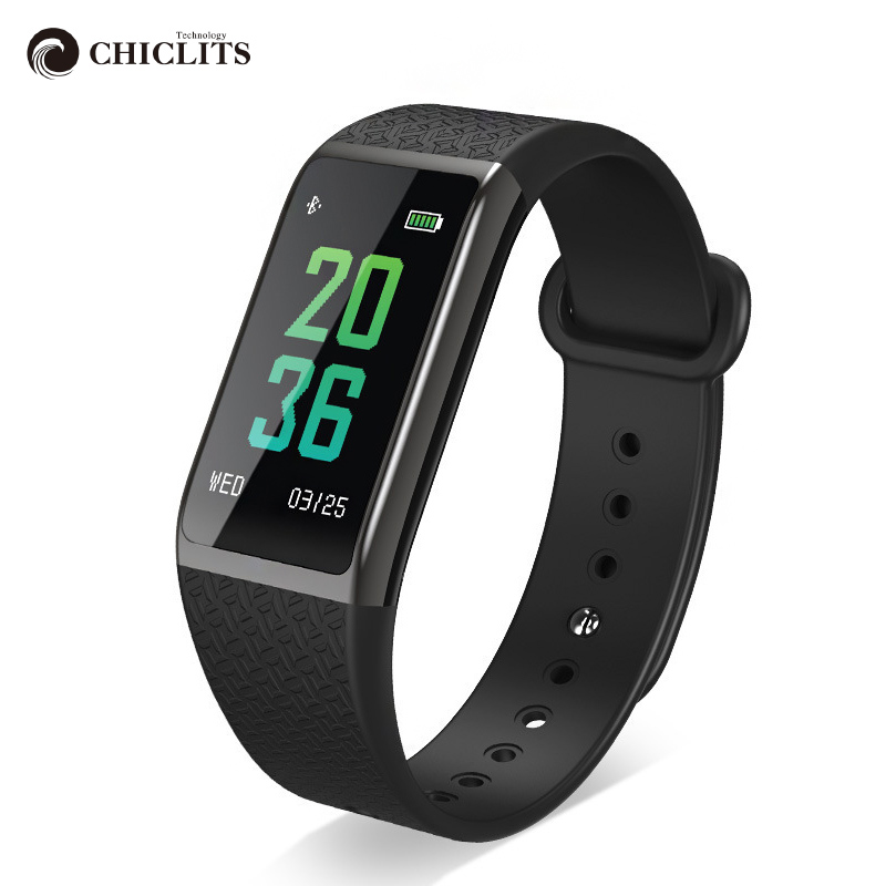 Chiclits Smart Band Wristband B25 0.96 IPS Color Screen Blood Oxygen Pressure Measurement Heart Rate Monitor New Smart Watch