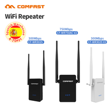 Comfast 300 – 750 Mbps Wireless WiFi Repeater Signal Amplifier 2*5dbi Antenna Wireless Access Point AP Wi Fi Range Extend Router