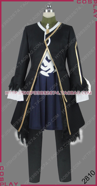 Fate Apocrypha Black Faction Lancer of Black the Lord Impaler Vlad III Outfit Cosplay Costume S002