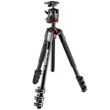 Manfrotto MK190XPRO4-BHQ2 Professional Tripod For SLR Camera Tripod Ball Head Monopod Changeable Load Bearing 7KG