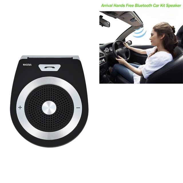 Sun Visor Speakerphone Wireless Bluetooth V4.1 Handsfree Car Kit For Mobile Phone...