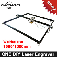500mw/2500mw/5500mw CNC Laser Engraver 1000mm*1000mmLaser Router Machine DIY MINI Wood Router For Cutting Engraving Milling Tool