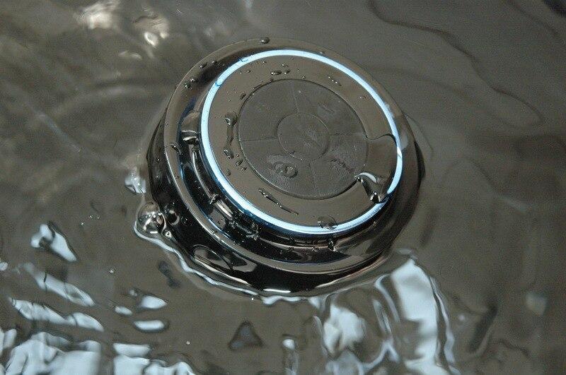 Bluetooth Speaker Bathroom Radio Mini Waterproof Wireless Shower Portable Handsfree Call Stereo Speakers IP67 In From