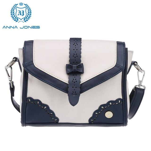 ANNA JONES 2017 shoulder bag cross body bag para las mujeres sobre los bolsos de hombro del mensajero bolsos para estudiantes LT1009S