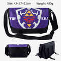 2017 The Legend of Zelda Shoulder Bags Cartoon Canvas School Bags Link/Zelda Shield Messenger Bag for Boys Children Mochila
